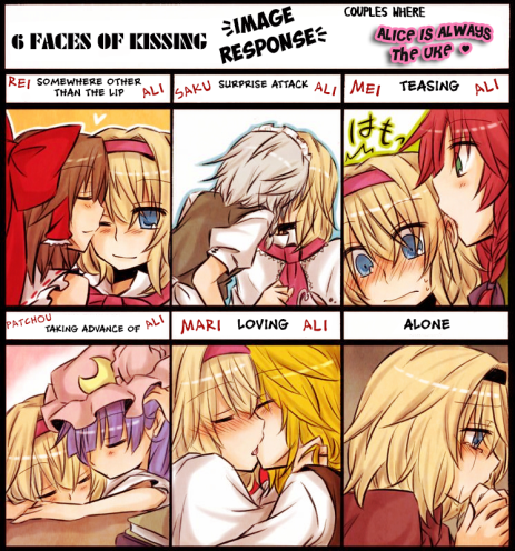 Alice is always the best uke ♥